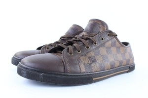 Louis Vuitton Punchy Punchie Axel Damier Sneaker Low Top Brown Athletic