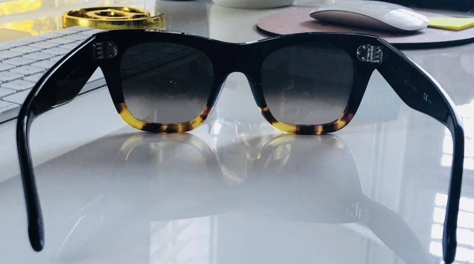 5f5dc86718f Céline Celine Cat Eye Sunglasses in Acetate - Black Havana Image 8.  123456789
