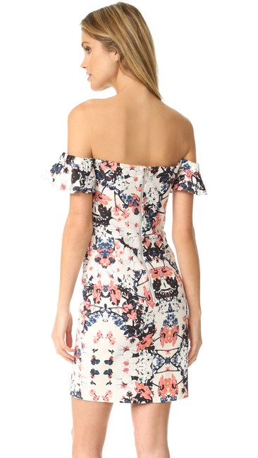 Parker short dress Floral Ruffle Strapless Spring Summer on Tradesy Image 1
