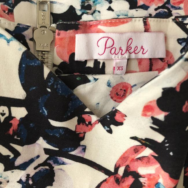 Parker short dress Floral Ruffle Strapless Spring Summer on Tradesy Image 3