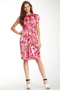 Badgley Mischka Pink Bms2088 Dress
