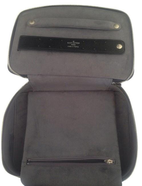 Item - Black Epi Leather Box Large