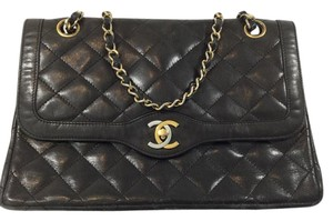 Chanel Double Flap Penny Lane Shoulder Bag