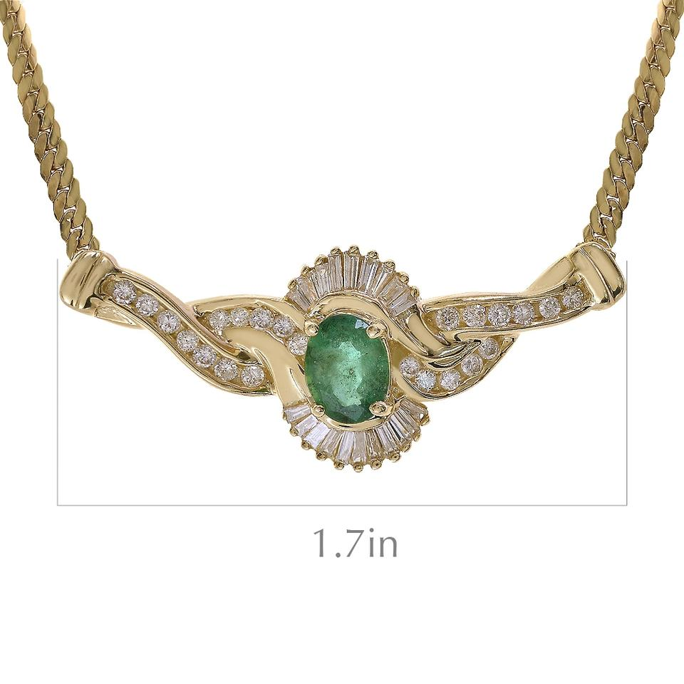 jewelry emerald avital necklace gold and carat oval co yellow diamond i