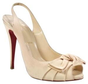 Christian Louboutin Limited Edition Nude Pumps