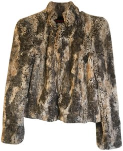 Alice + Olivia Faux Jacket Fur Coat