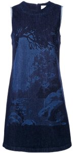 Victoria, Victoria Beckham short dress Blue on Tradesy