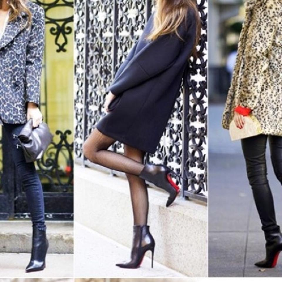 c68f0a56639f Christian Louboutin Black Kid Leather So Kate Boots Booties Size US ...