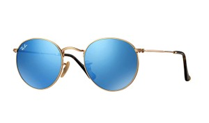 Ray-Ban Free 3 Day Shipping - RB 3447 001/90 Blue Lens Rounded Ray Ban