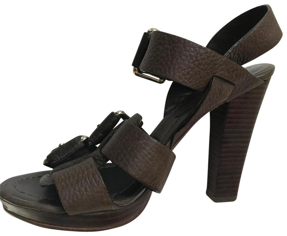 53e0eb206aba Theory Chocolate Brown Buckle Sandals. Size  EU 36 (Approx. US 6) ...