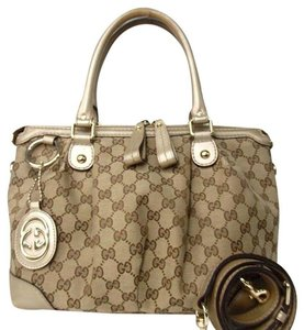 Gucci Tote in Beige and Brown GG