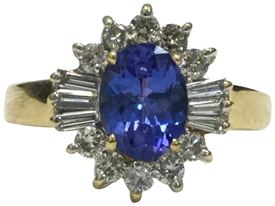 image le is grams yellow size ring diamond vian trillion itm tanzanite s gold loading