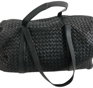 Bottega Veneta black Travel Bag