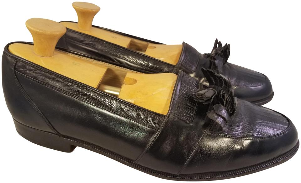 sports shoes a2c94 50518 Black Hand Made In England Man Loafers Formal Shoes Size US 10.5 Wide (C, D)