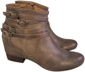 Miz Mooz Made In Spain Woman Leather GRAY Boots