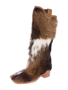 Chanel Pony Clothing Multi Fur Boots - item med img