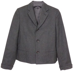 Tricot Comme des Garçons Career Suiting Fall Luxury Charcoal Gray Blazer