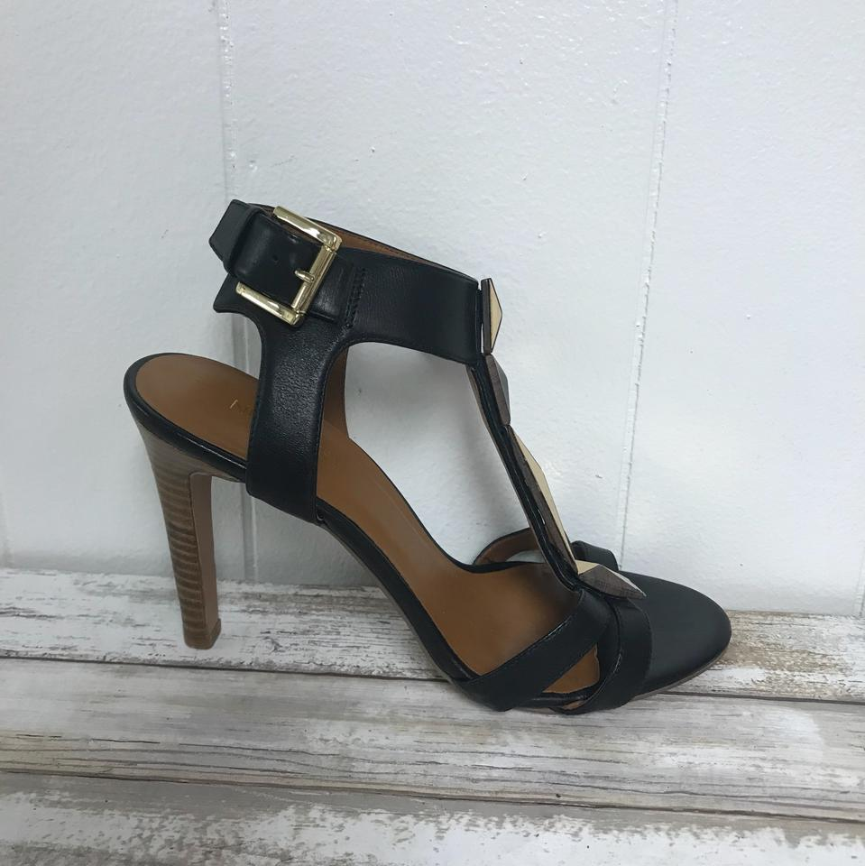 17c84f75563 Nine West Black House Of Harlow 1960 Lace and Leather Trim Cork ...