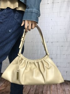 Gucci Rauched Leather Baguette