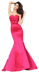 Sherri Hill Fuschia 50543 Mermaid Dress
