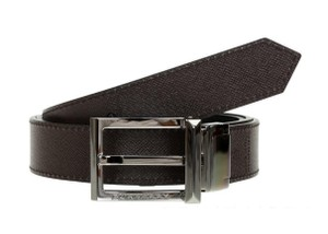 Burberry London Leather Webster Men's Reversible Belt Size 40/100