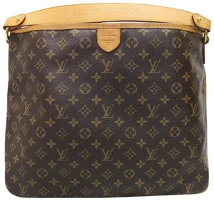 Louis Vuitton Lv Delightful Mm Canvas Hobo Bag