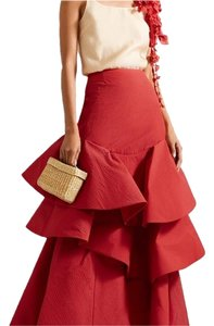 Rosie Assoulin Maxi Skirt red