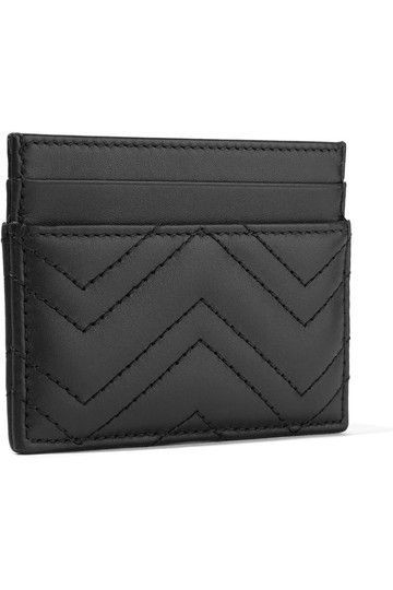 Gucci Brand New - GG Marmont Quilted Leather Cardholder Image 1