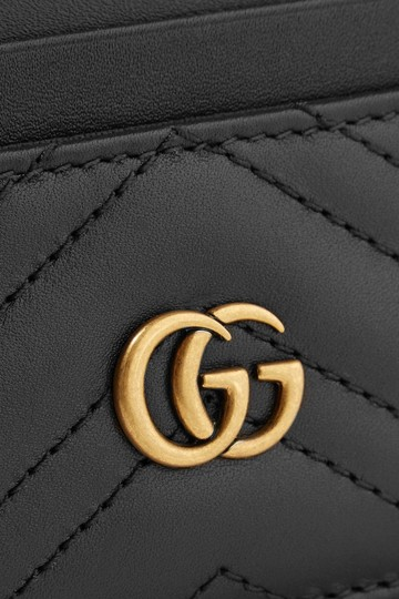 Gucci Brand New - GG Marmont Quilted Leather Cardholder Image 3