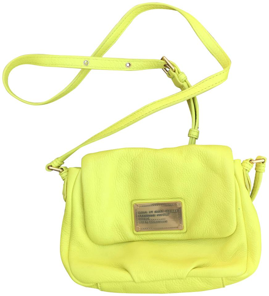 fc41be0c714e Marc by Marc Jacobs Neon Leather Cross Body Bag - Tradesy