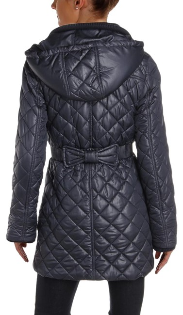 Item - Grey Packable Diamond Quilted Puffer Coat Size 6 (S)