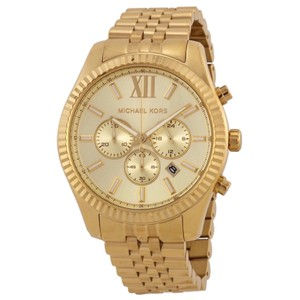 Michael Kors MK8281 Lexington Chronograph Champagne Dial