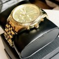 Michael Kors MK8281 Lexington Chronograph Champagne Dial Image 3