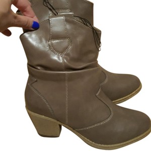 Charles Albert Nude Boots