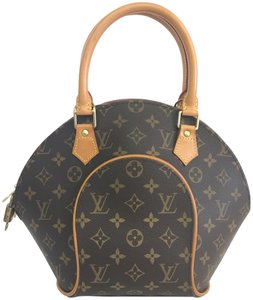 Louis Vuitton Lv Monogram Canvas Ellipse Pm Tote in brown