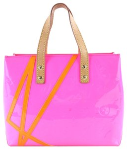 Louis Vuitton Limited Edition Robert Wilson Kusama 2017 2018 Tote in Fluo Pink