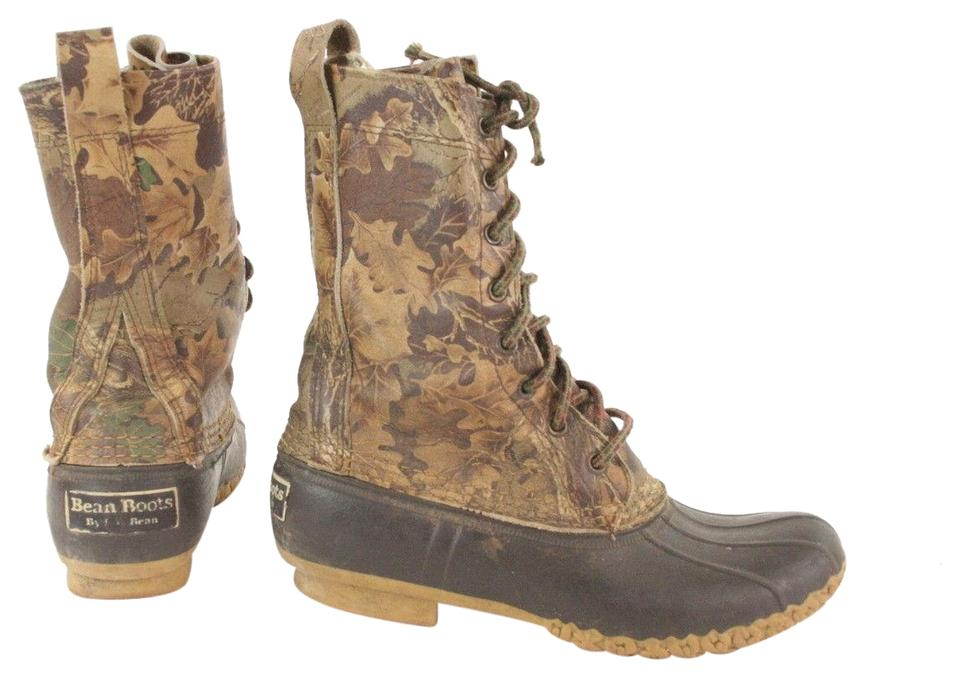 brand new 5911f bfa16 Camouflage Vintage Camo Duck 8eye Hunting Leaves Boots/Booties Size US 7  Narrow (Aa, N)