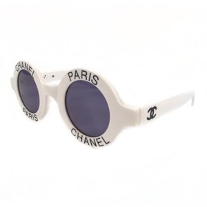 9aa5c92d9035 White Chanel Sunglasses - Up to 70% off at Tradesy (Page 2)