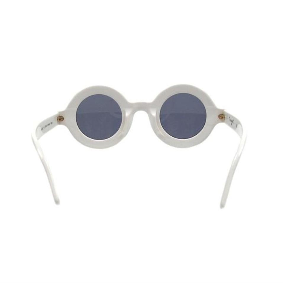 207563a56234 Chanel White Vintage Sunglasses - Tradesy