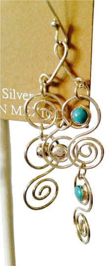 Other NWOT Sleeping Beauty Turquoise In Sterling Silver Shaky Earrings