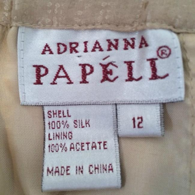 Adrianna Papell Adrianna Papell 1980's Vintage 100% Silk Women's Skirt Suit- Size 12
