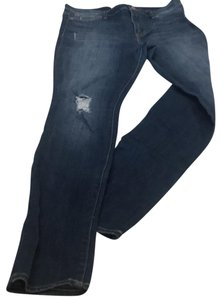 Dittos Straight Leg Jeans-Distressed