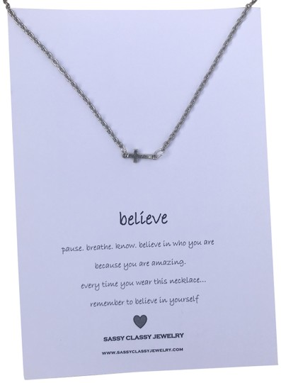 Preload https://img-static.tradesy.com/item/22796702/silver-believe-message-cross-gift-for-best-friend-birthday-gift-necklace-0-4-540-540.jpg