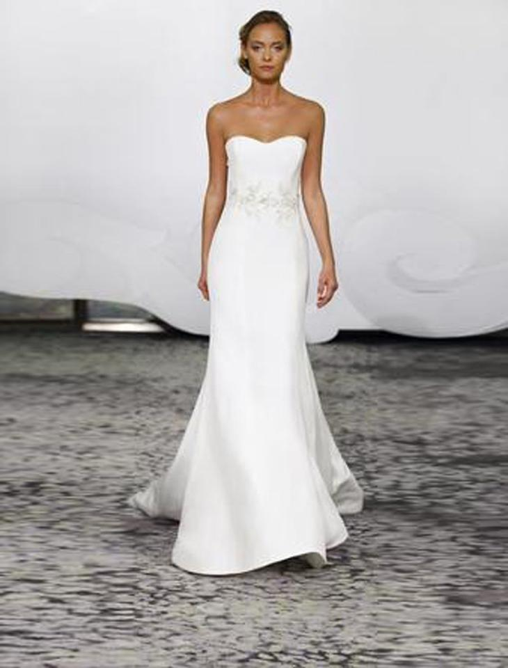 Rivini Ivory Silk Crepe With Beaded Embroidered Appliques Wynne