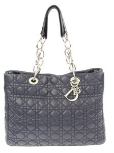 Dior Tote in Dark Navy
