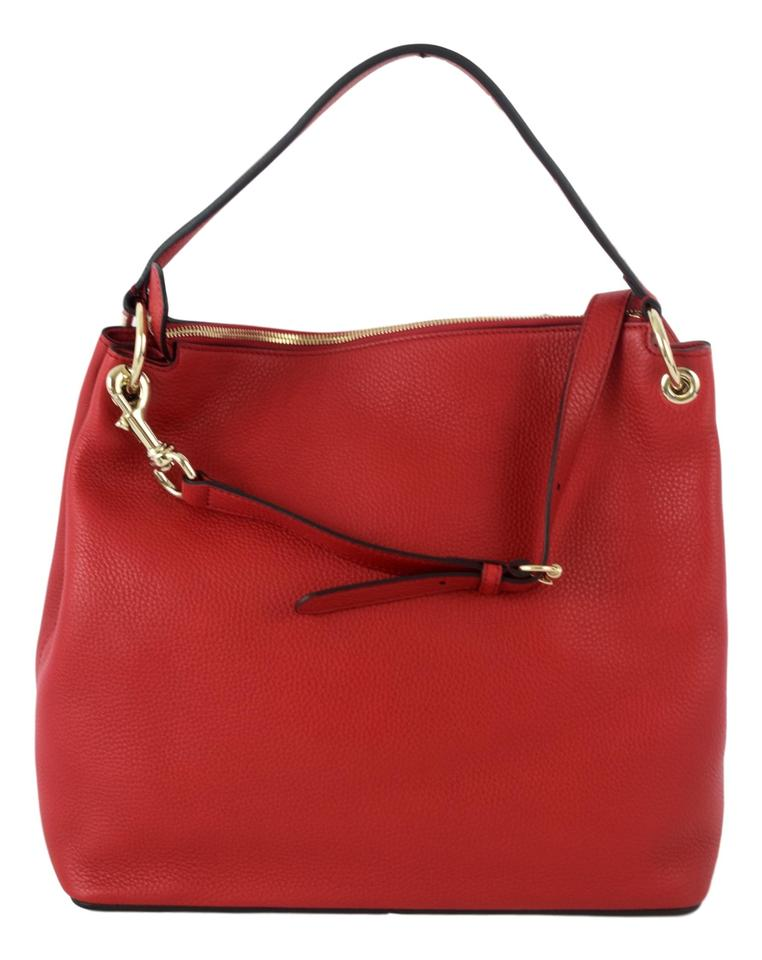 de94338ff Gucci Soho 408825 with Detachable Strap Red (Flame) Leather Hobo Bag ...