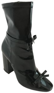Philosophy di Lorenzo Serafini Ankle Patent Leather Black Boots