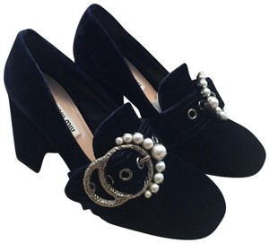Miu Miu Blue Navy Pumps