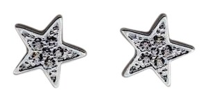 Tai Tai silver studded star earrings new with tags
