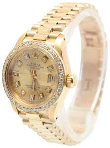 Rolex Rolex Ladies President 18K Yellow Gold 26MM 6917